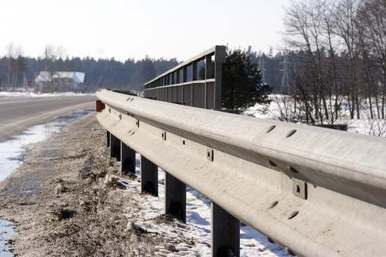 Roadside safety barriers