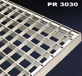 Galvanized pressed steel grating PR