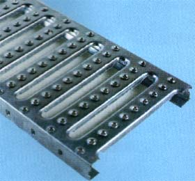 Profile platform grating STEG