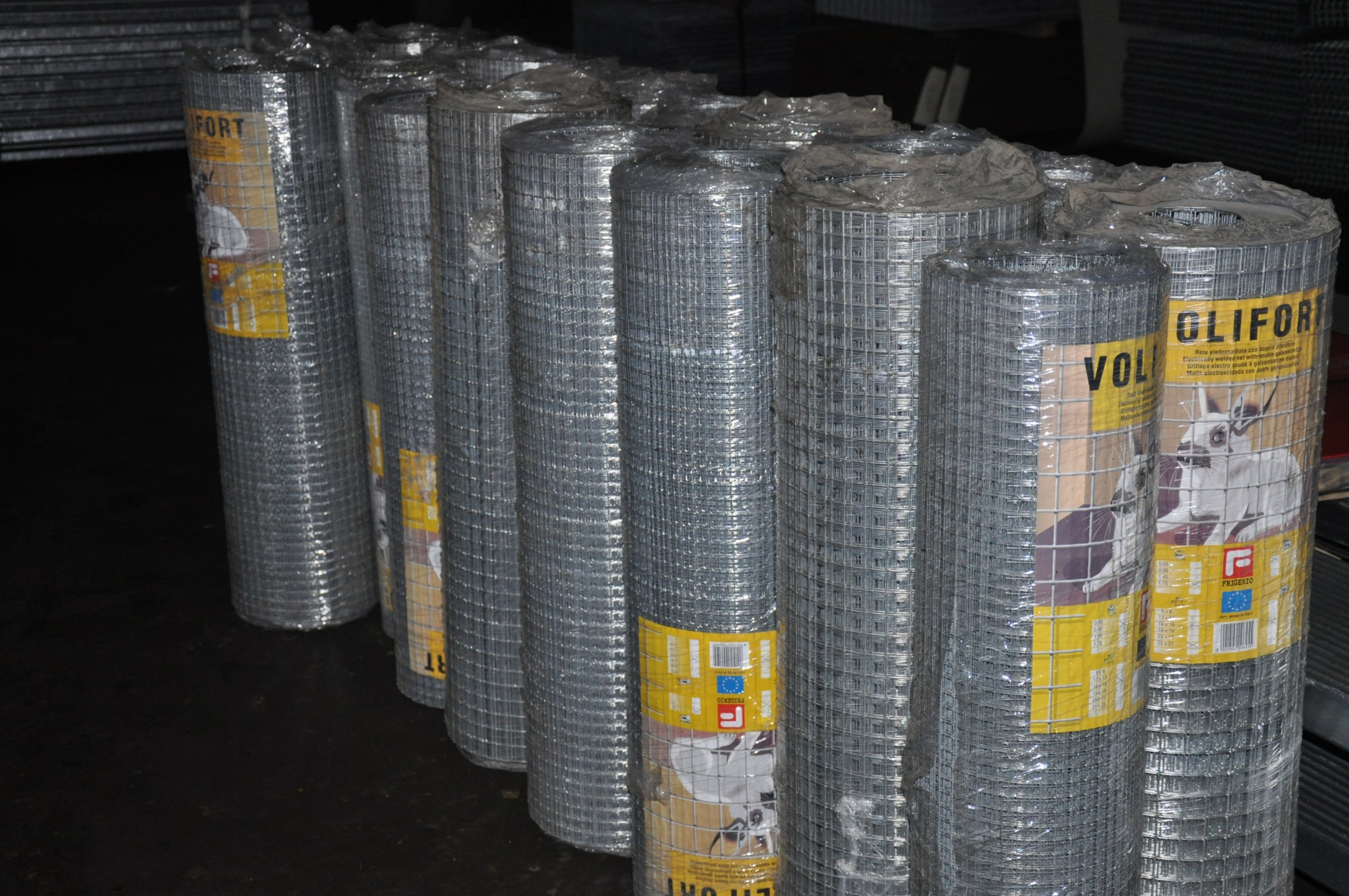 Welded steel net - galvanized