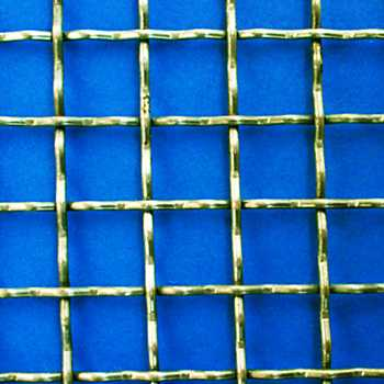 Woven steel net - galvanized 40*40*4 mm