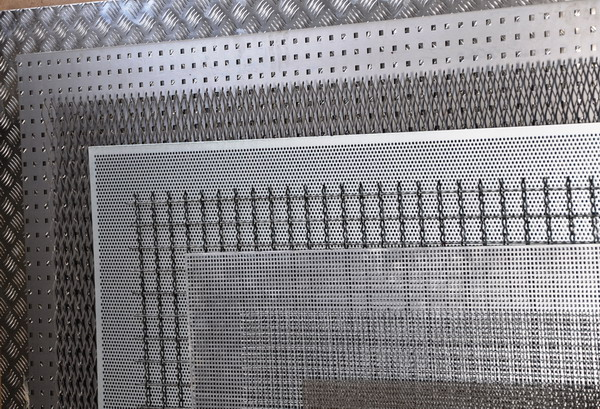 Nets, perforated sheets, expanded materials